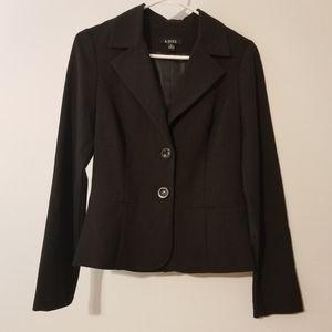A. Byer black suit jacket size medium